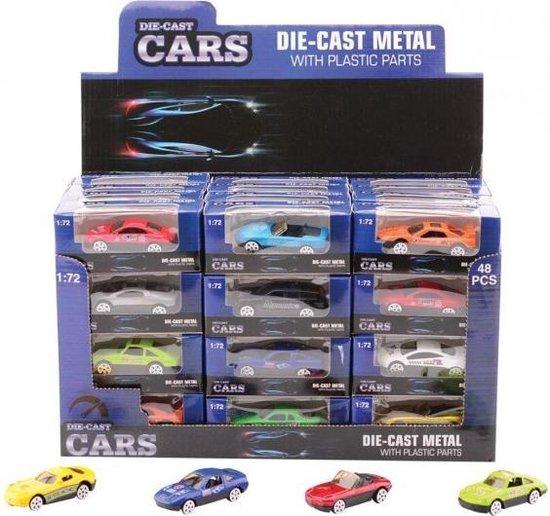 Afbeelding van het spel Super Cars 2.6 Inch Die-Cast Auto 12 Assorti