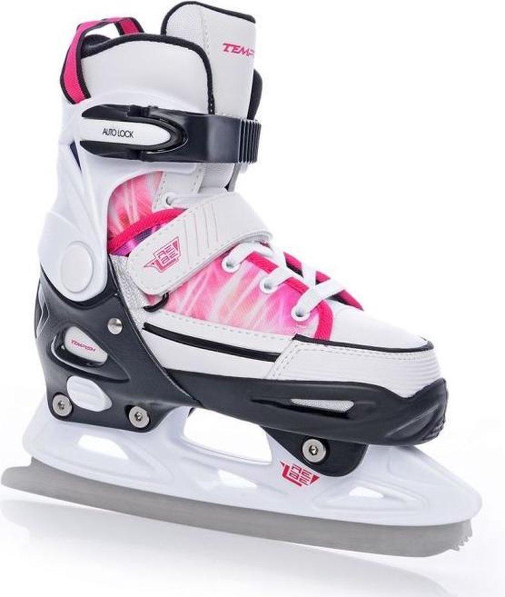 Tempish - Rebel ice one pro girl - Verstelbare schaatsen - Maat 37-40 - Roze