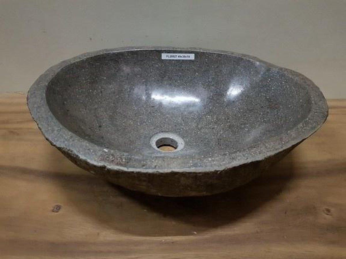 Waskom natuursteen FL20527 - 49x38x14cm
