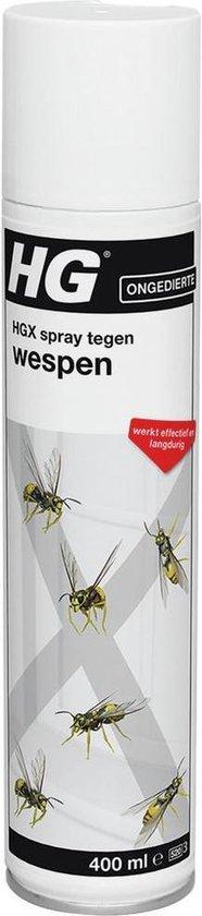 HGX spray tegen wespen - 400ml - Uiterst effectief bestrijdingsmiddel