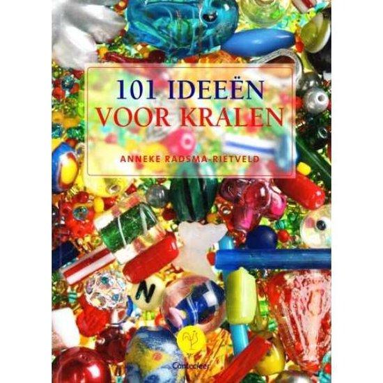 Cover van het boek '101 Ideeen voor kralen' van Anneke Radsma-Rietveld