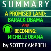 Boek cover Summary: A Promised Land: Barack Obama and Becoming: Michelle Obama van Scott Campbell