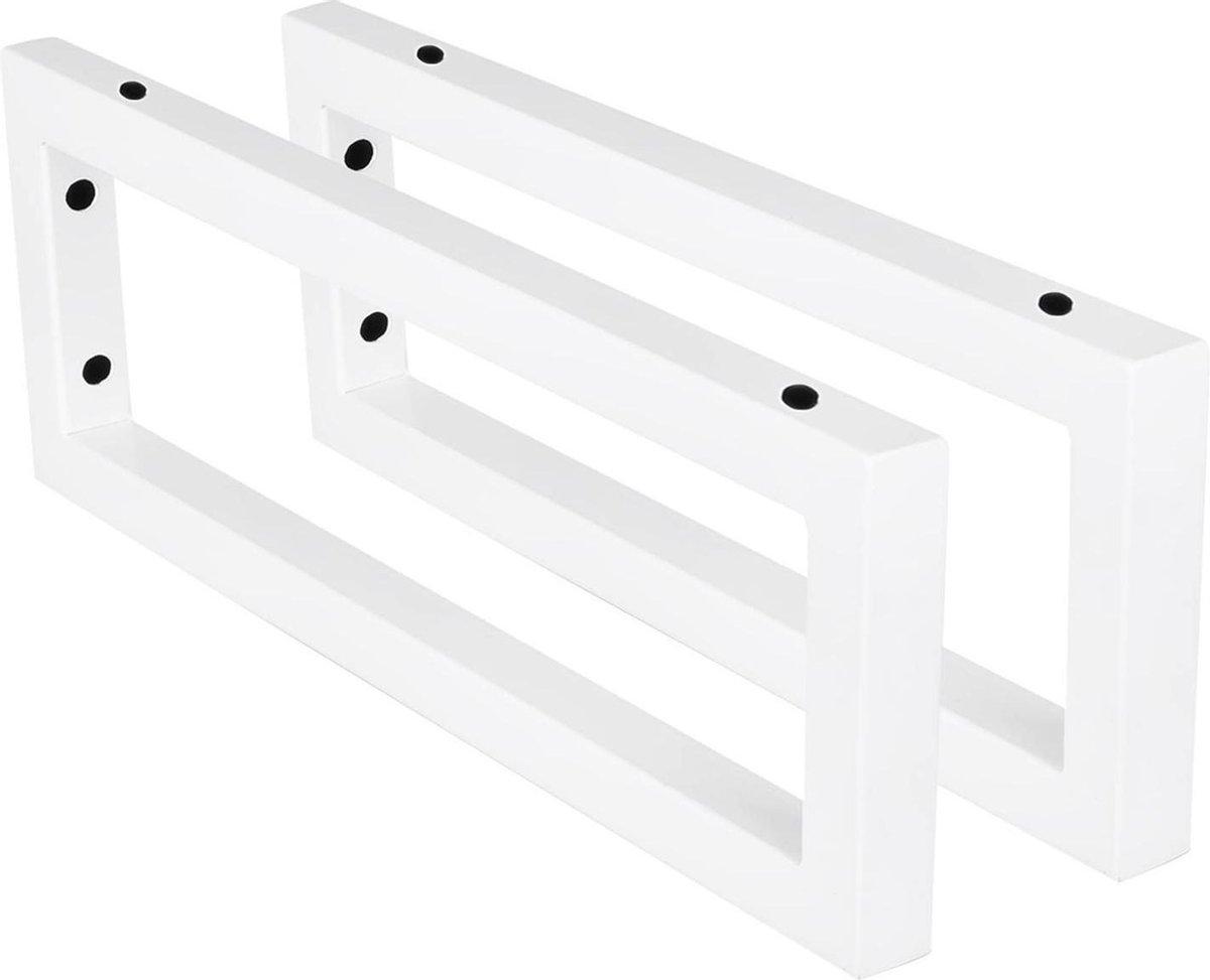 Differnz ophangbeugel - voor wastafel - 15 x 2.5 x 44 cm - wit