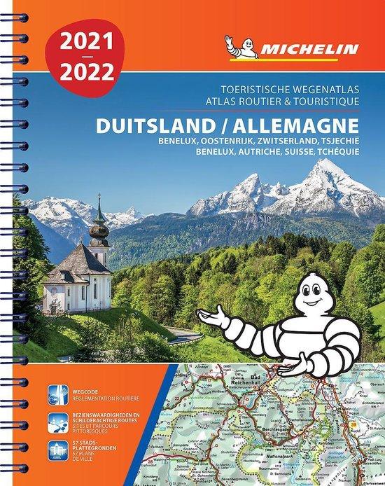 Boek cover ATLAS MICHELIN DUITSLAND, OOSTENRIJK 2021 van  (Paperback)