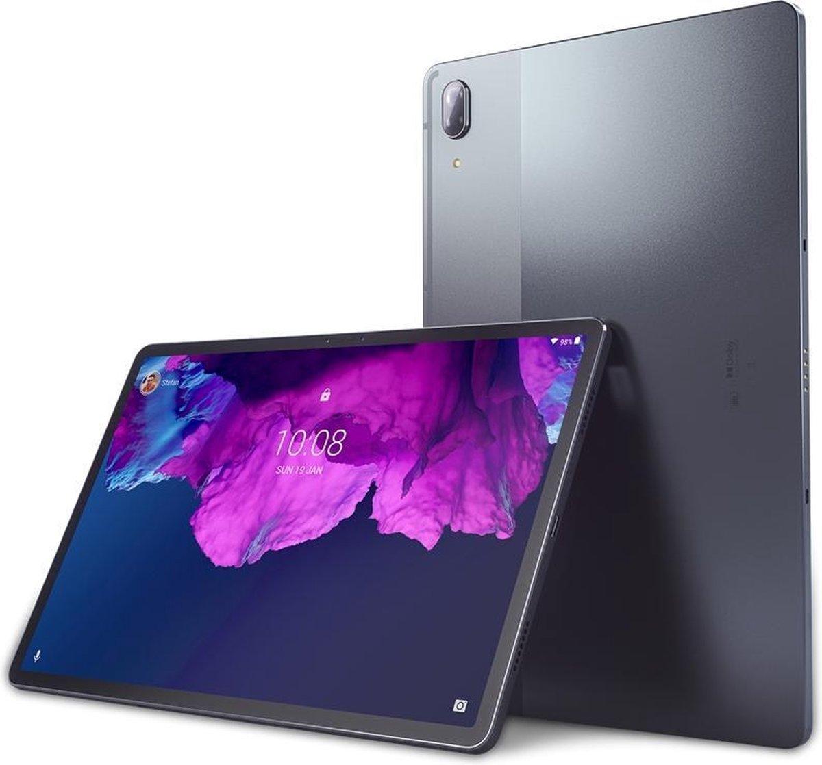 Lenovo Tab P11 Pro – 128 GB – WiFi – AZERTY toetsenbord + Pen – Grijs