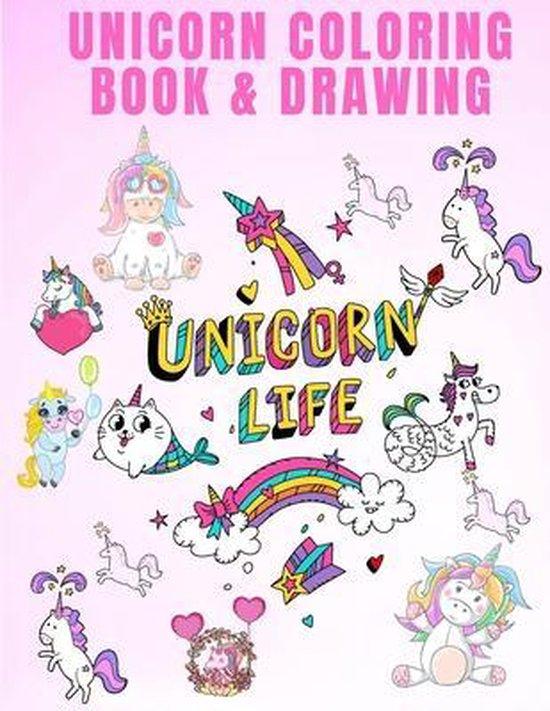 Unicorn Coloring Book & Drawing