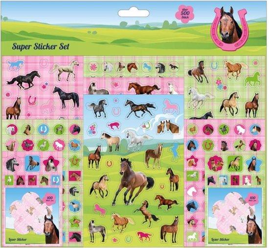 Afbeelding van het spel Stickerset Paarden 500+