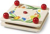 Simply for Kids Bloemenpers Hout - Lieveheersbeestje