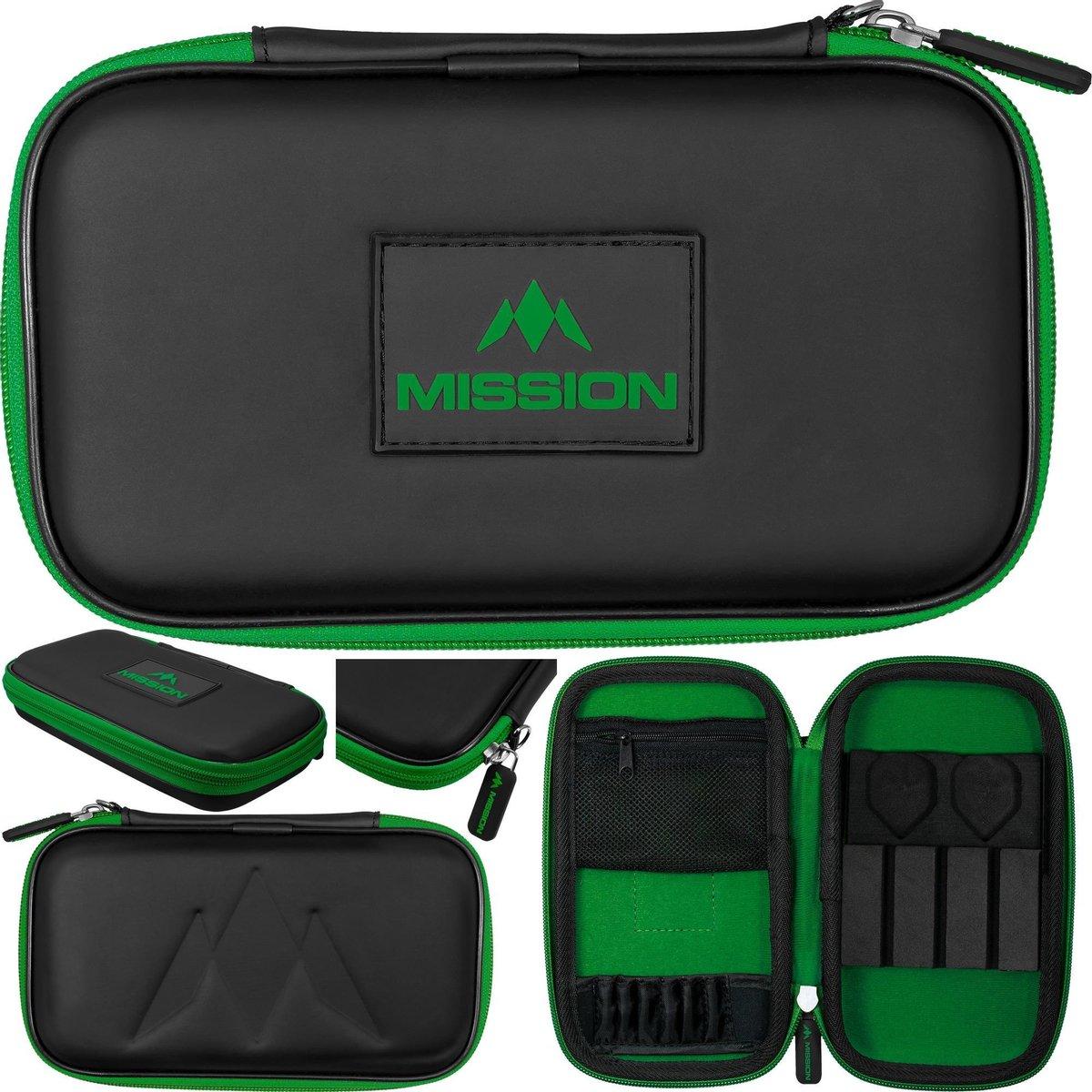 Mission Freedom XL Darts Case - Groen