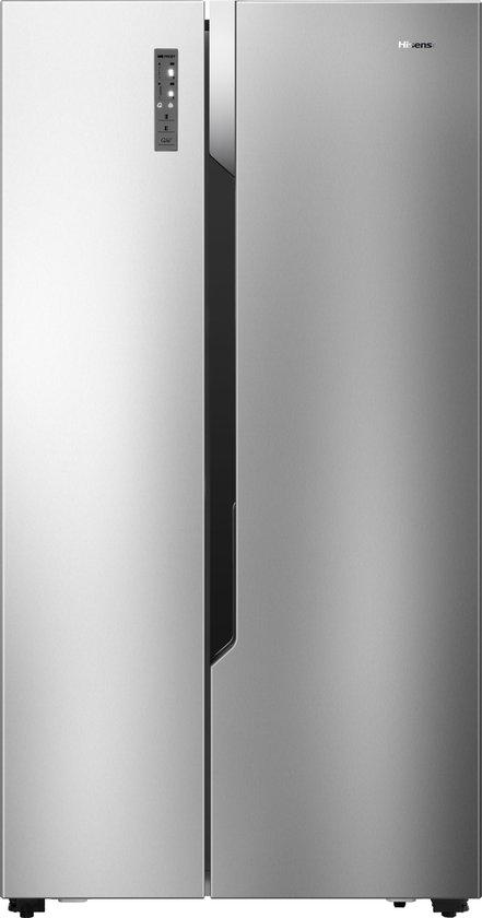 Koelkast: Hisense - RS670N4AC1 - Amerikaanse Koelkast - RVS, van het merk Hisense