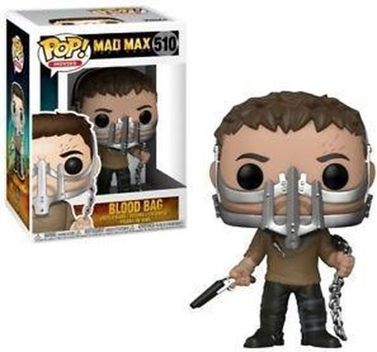 POP Movies: Mad Max: Fury Road - Max w/Cage Mask - 510