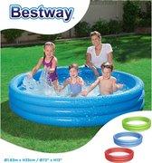 Bestway Zwembad 3-rings (183x33cm) 3 designs