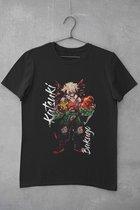 Katsuki Bakugo Anime Merchandise T-Shirt - Maat L - Boku no Hero Academia | My Hero Academia Manga Serie Merch