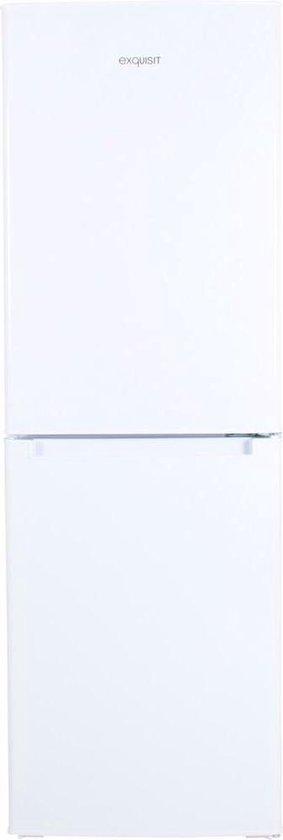 Koelkast: Exquisit KGC230/60-4A+ - Compacte Koel-vriescombinatie - Wit, van het merk Exquisit