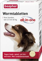Beaphar All In One Ontwormingsmiddel - Hond 2.5-40
