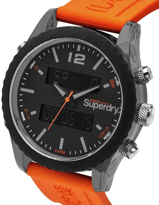 Superdry Unisex horloges Tokyo Anadigi SYG206O