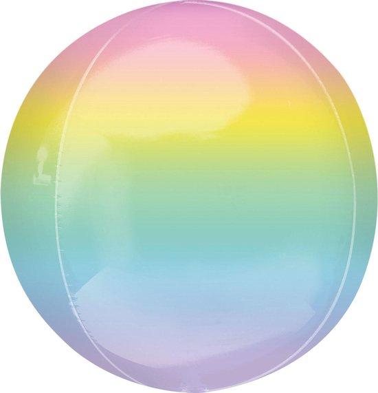 Amscan Folieballon Orbz 40 Cm Multicolor