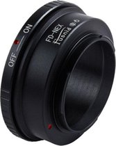 Adapter FD-NEX: Canon FD Lens - Sony NEX, A7 FE mount Camera