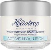 Heliotrop - Active Hyaluron - multi-perform - nachtcreme - 50ml