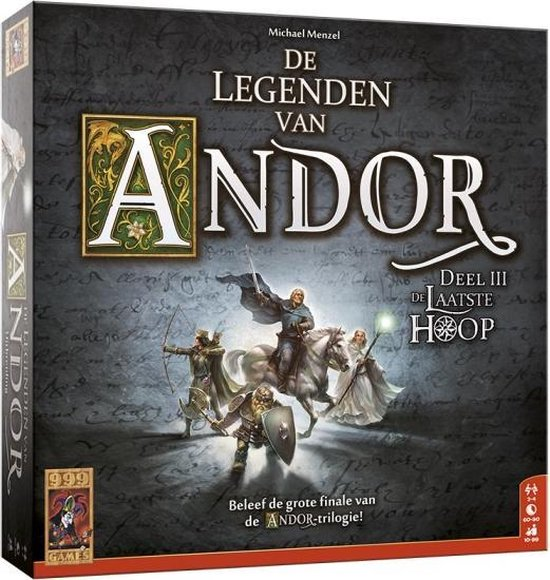 Afbeelding van het spel bordspel De Legenden van Andor: De Laatste Hoop