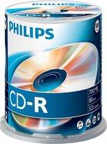 Philips | CD-R | 700 MB | 100 stuks