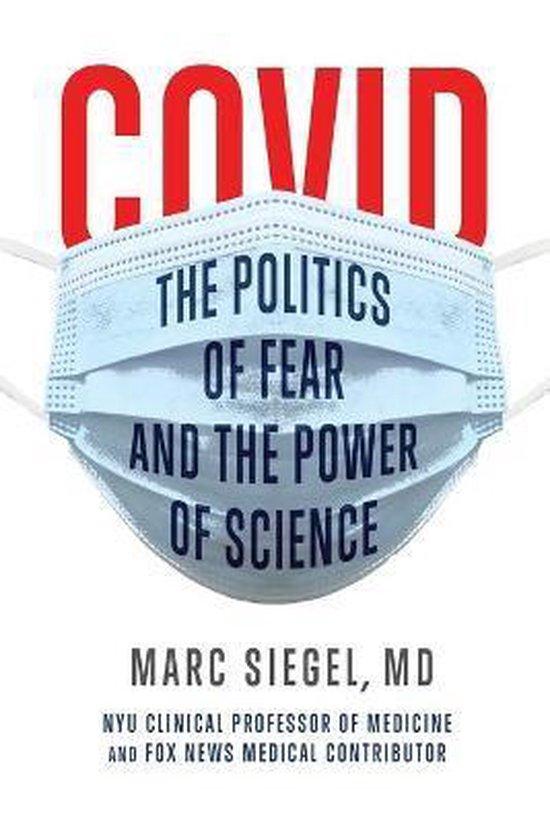 Boek cover COVID van Marc Siegel (Paperback)