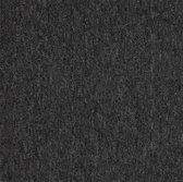 FLORIDA zwart 50x50cm tapijttegel bouclé tapijt 5m2 / 20 tegels