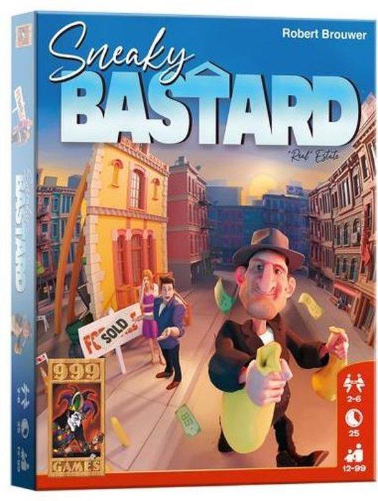 Afbeelding van het spel kaartspel Sneaky Bastard junior papier 86-delig