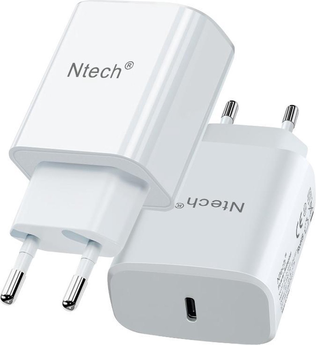 oplader iphone 12 - Ntech - oplader iphone 11 - apple oplader - iphone oplader - USB C oplader apple 20W - USB C oplader Samsung - usb c adapter apple - lader iphone 12 - lader iphone 11 wit