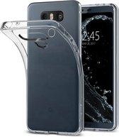 Transparant TPU siliconen case hoesje voor de LG G6