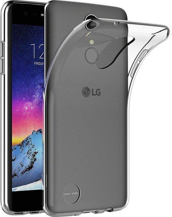 Transparant TPU siliconen case hoesje voor de LG K8 (2017)
