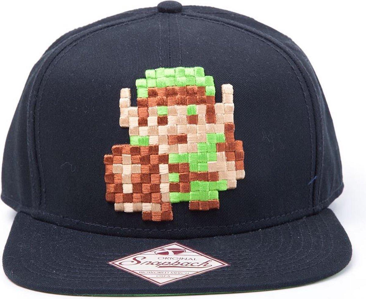 The Legend of Zelda - Snapback Cap, Pixel Link 8 bit - Difuzed