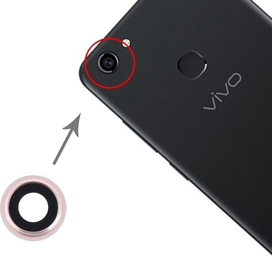 Let op type!! Camera Lens Cover for Vivo Y79 (Gold)