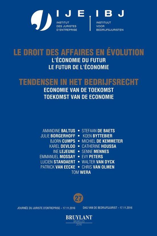 Boek cover Jaarboek Dag van de Bedrijfsjuristen 2016 van Amandine Baltus (Onbekend)