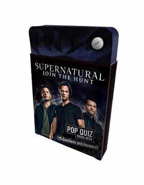 Afbeelding van het spel Supernatural Pop Quiz Trivia Deck
