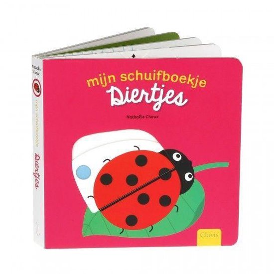 Mijn schuifboekje - Diertjes - Nathalie Choux  