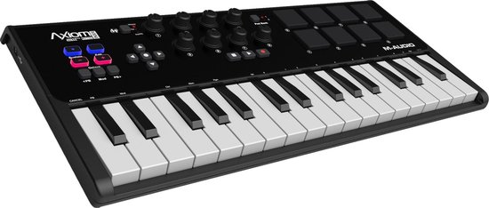 M-Audio Axiom AIR Mini 32 - USB MIDI-keyboard - Zwart