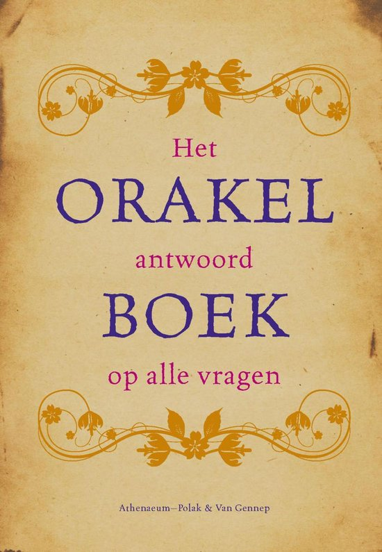 Orakelboek - none | Readingchampions.org.uk