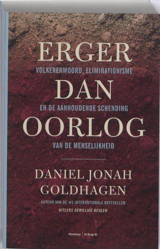 Erger dan oorlog - Daniel Jonah Goldhagen |