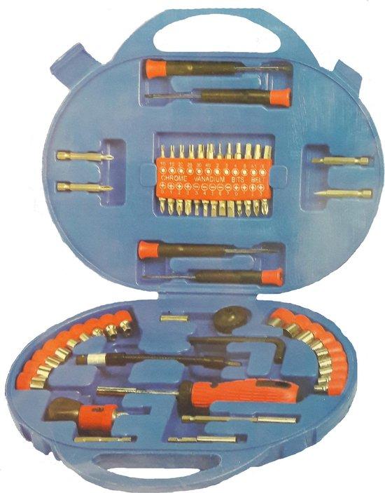 Kinzo gereedschapskoffer - 59-delig