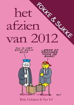 Boek cover Fokke & Sukke - Het afzien van 2012 van John Reid