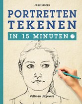Boek cover Portretten tekenen in 15 minuten van Jake Spicer