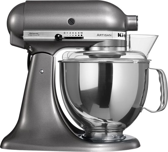 KitchenAid Artisan 5KSM150PSEMS - Keukenmachine - Metallic