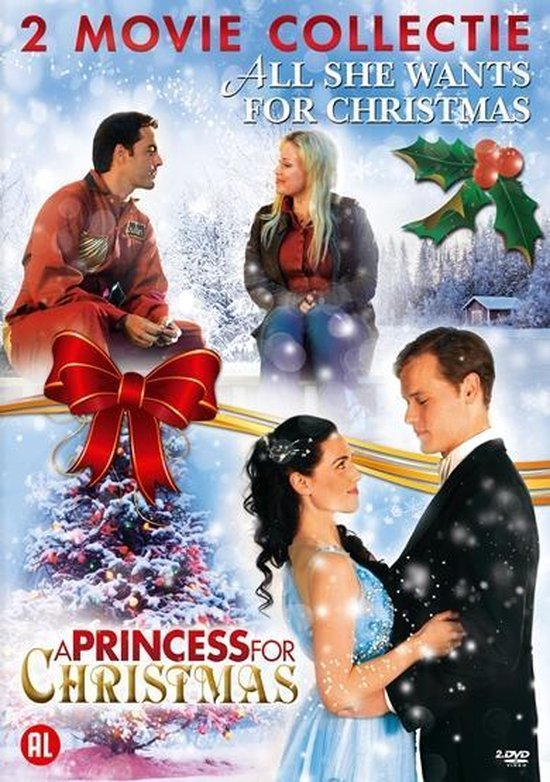 Cover van de film 'Princess For Christmas/All She Wants For Christmas'