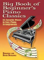 Boek cover Big Book Of Beginners Piano Classics van Bergerac (Paperback)