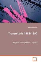 Transnistria 1989-1992