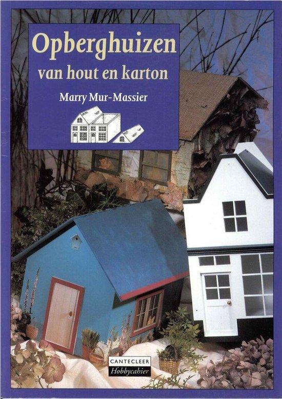 Opberghuizen van hout en karton - Auteur Onbekend |