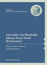 Boek cover Alexander Von Humboldt / Johann Franz Encke, Briefwechsel van
