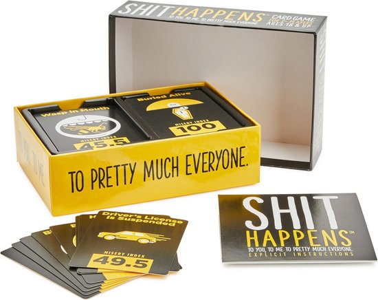 Shit Happens 18+ - Kaartspel