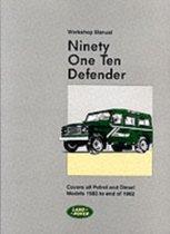 Land Rover 90 and 110 (Plus Defender Supplements) Workshop Manual